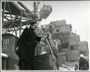 Moshe Safdie à Habitat, 1966. Collection de Safdie Architects