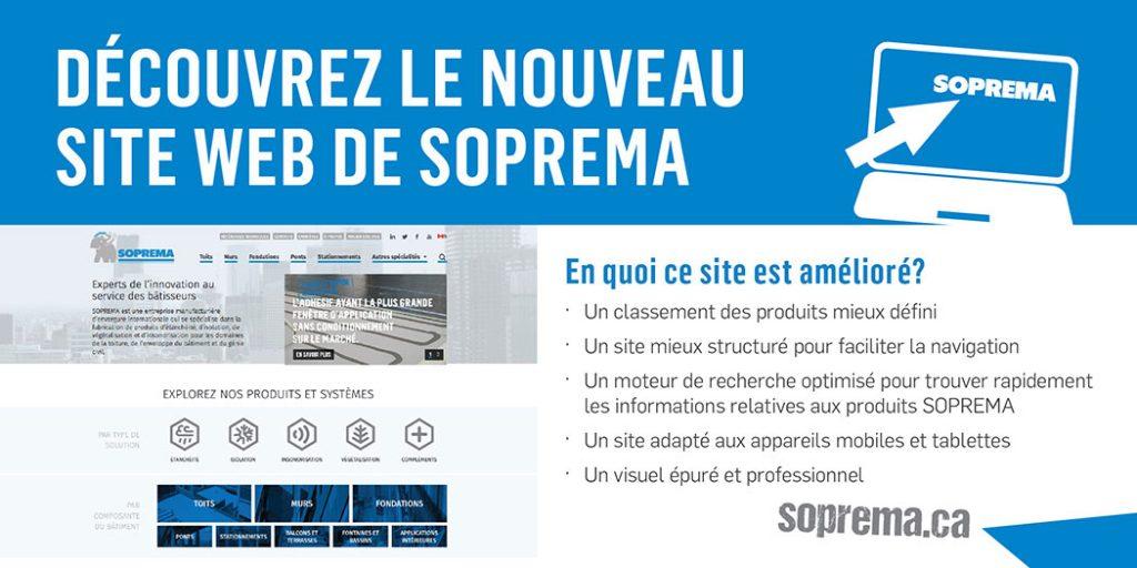 Découvrez le nouveau site web de Soprema